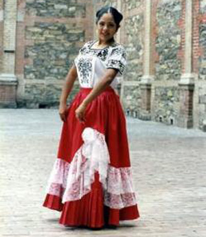 f9e684f1c2dcc5 Traditional Mexican costume. Typical pieces of clothing in Mexico ...