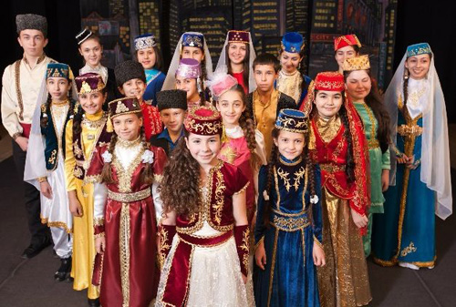 National costume of Crimean Tatars. Small ethnic group ... Самые Красивые Татарки