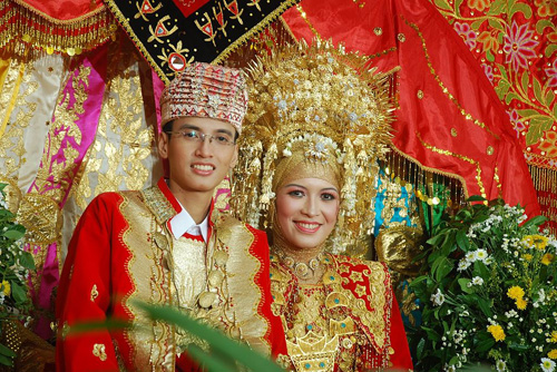 Minangkabau-wedding