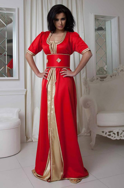 tunisian modern female clothing with ethnic motifs photos