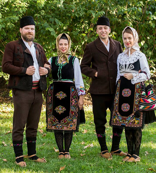 Serbian Folk Costume Great Diversity Of Outfits With Balkan