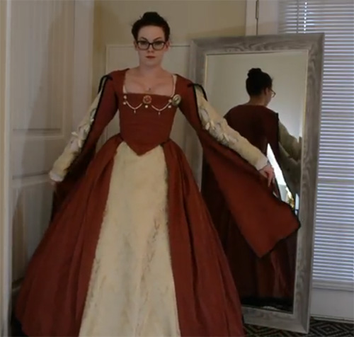 Tudor French Gown6