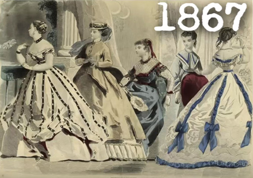 816ec458b5 19th century fashion. Dozens of different trends
