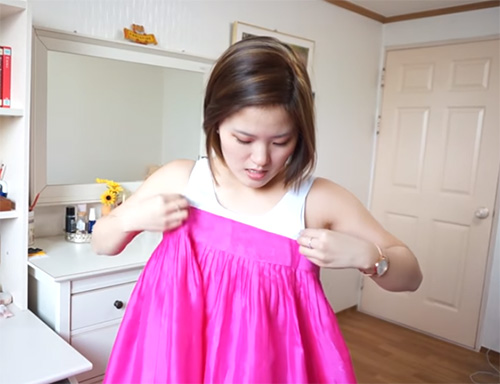 a2c444886 How to wear Korean traditional female garment hanbok ...