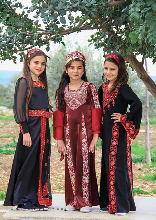 Palestinian girls