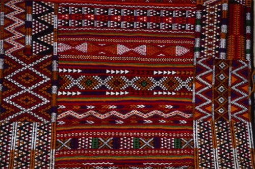 1000+ images about textiles - Algeria on Pinterest | Hand ...  |Berber Tribe Fabric